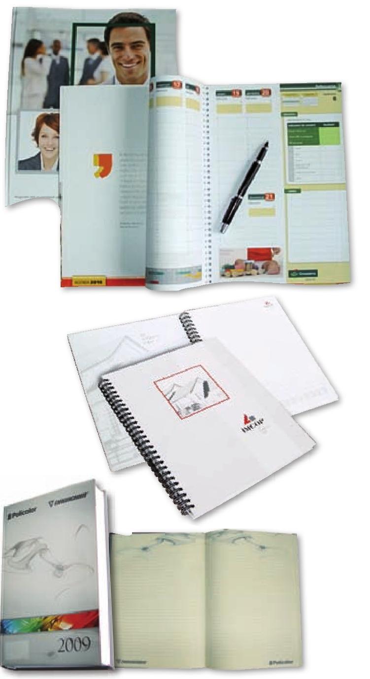 agenda agende personalizate tiparita integral A5 A4 2009